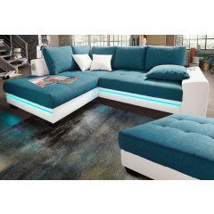 Dīvāns tirkīzā krāsā