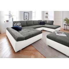 Liels dīvāns ar diviem stūriem