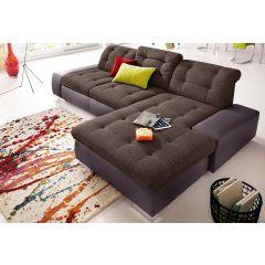 Dīvāns liels brūns stūra
