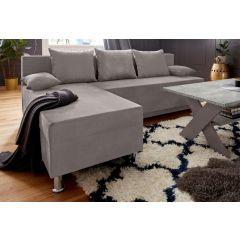 Stūra dīvāns - Marco (Izvelkams ar veļas kasti)