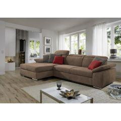 Brūns stūra dīvāns no vācijas