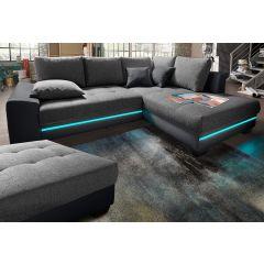 Dīvāns ar gaismiņām
