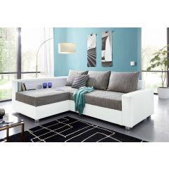 Stūra dīvāns - Relax (Izvelkams ar veļas kasti)