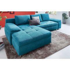 tirkīza krāsā dīvāns