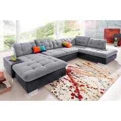 U formas dīvāns - Polomino U (Izvelkams)