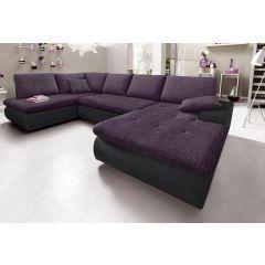 Liels violets dīvāns