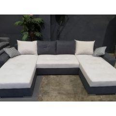 Stūra dīvāns - Josy U (Izvelkams ar veļas kasti)