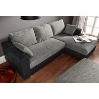 Corner sofa - Caro (Pull-out with laundry compartment)
