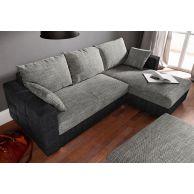 Stūra dīvāns - Caro (Izvelkams ar veļas kasti)