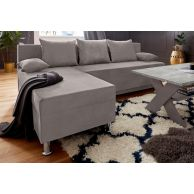 Corner sofa - Marco (Pull-out with laundry compartment)