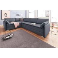 Stūra dīvāns ikdienas gulēšanai ar lielu guļamplatību 180x200